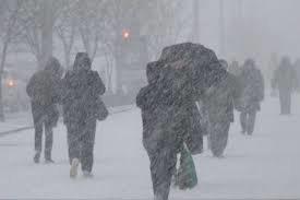 1 декабря в Запорожской области ожидаются снег, метель и гололед