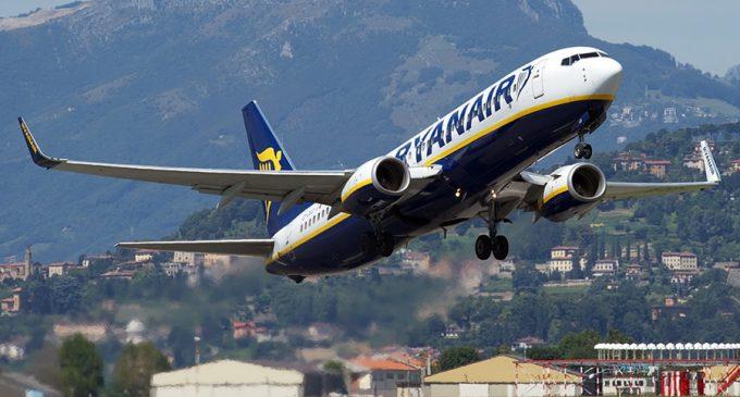 Авиакомпания Ryanair анонсировала увеличение пассажиропотока из Украины
