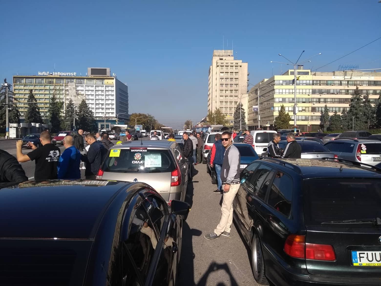 Активисты анонсировали перекрытие автодорог в Запорожье и Мелитополе