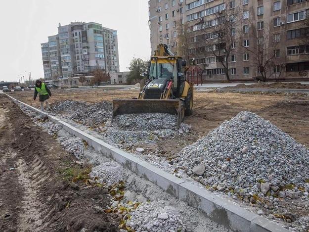 В Александровском районе проходит реконструкция улицы: планируется новый выезд на Набереную магистраль