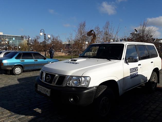 В Бердянск приехала миссия ОБСЕ