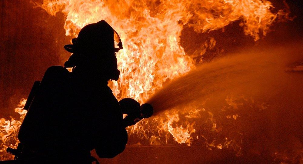 В Бердянске пожар унес жизнь человека