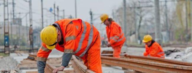 В Запорожской областиактивизировалась реконструкция железных дорог в Приазовье