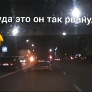 В Запорожской области водитель-камикадзе едва не натворил беды (ВИДЕО) - 10.11.2018, 22:07