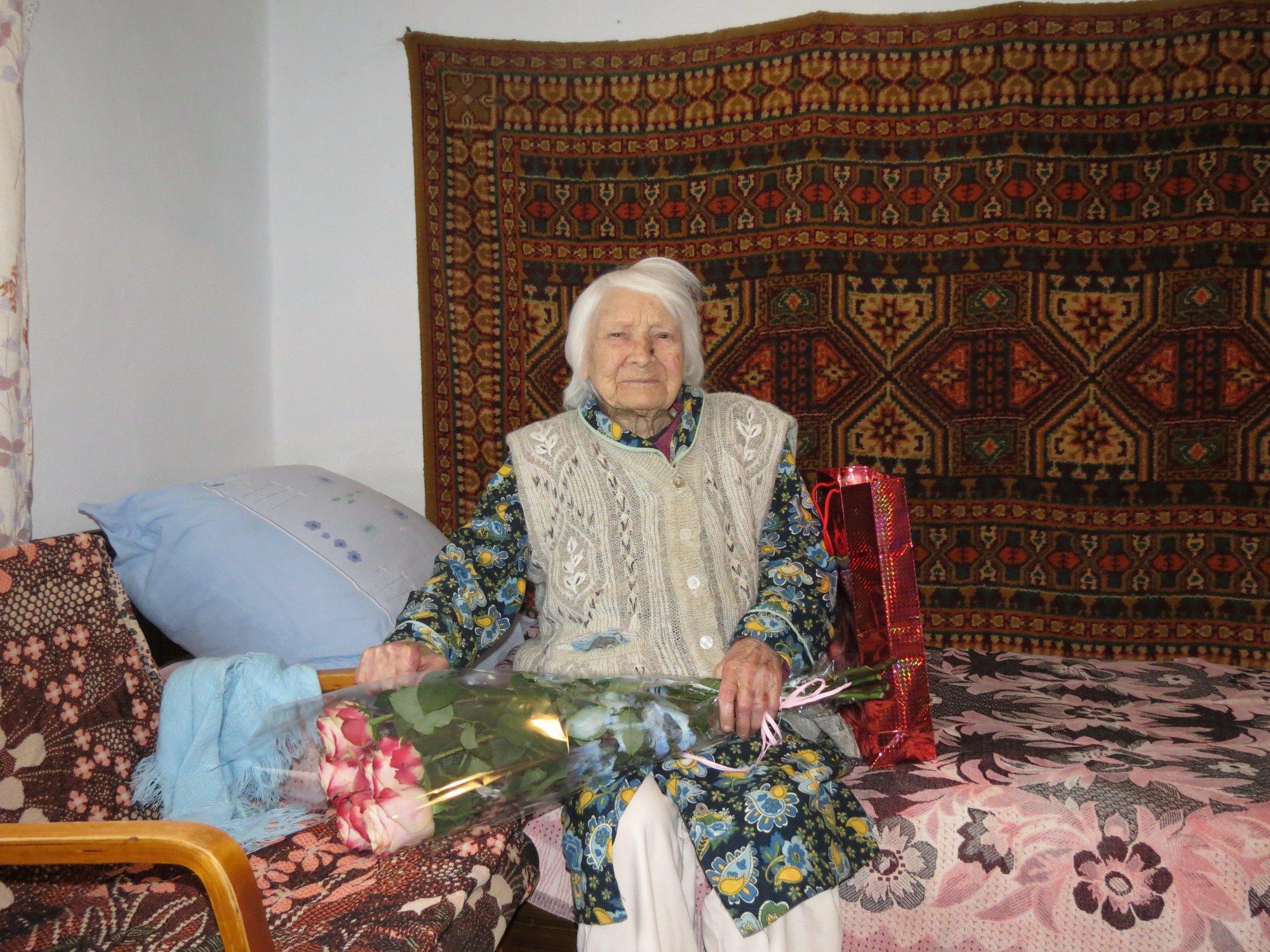 В Запорожской области долгожительница отметила 106 лет