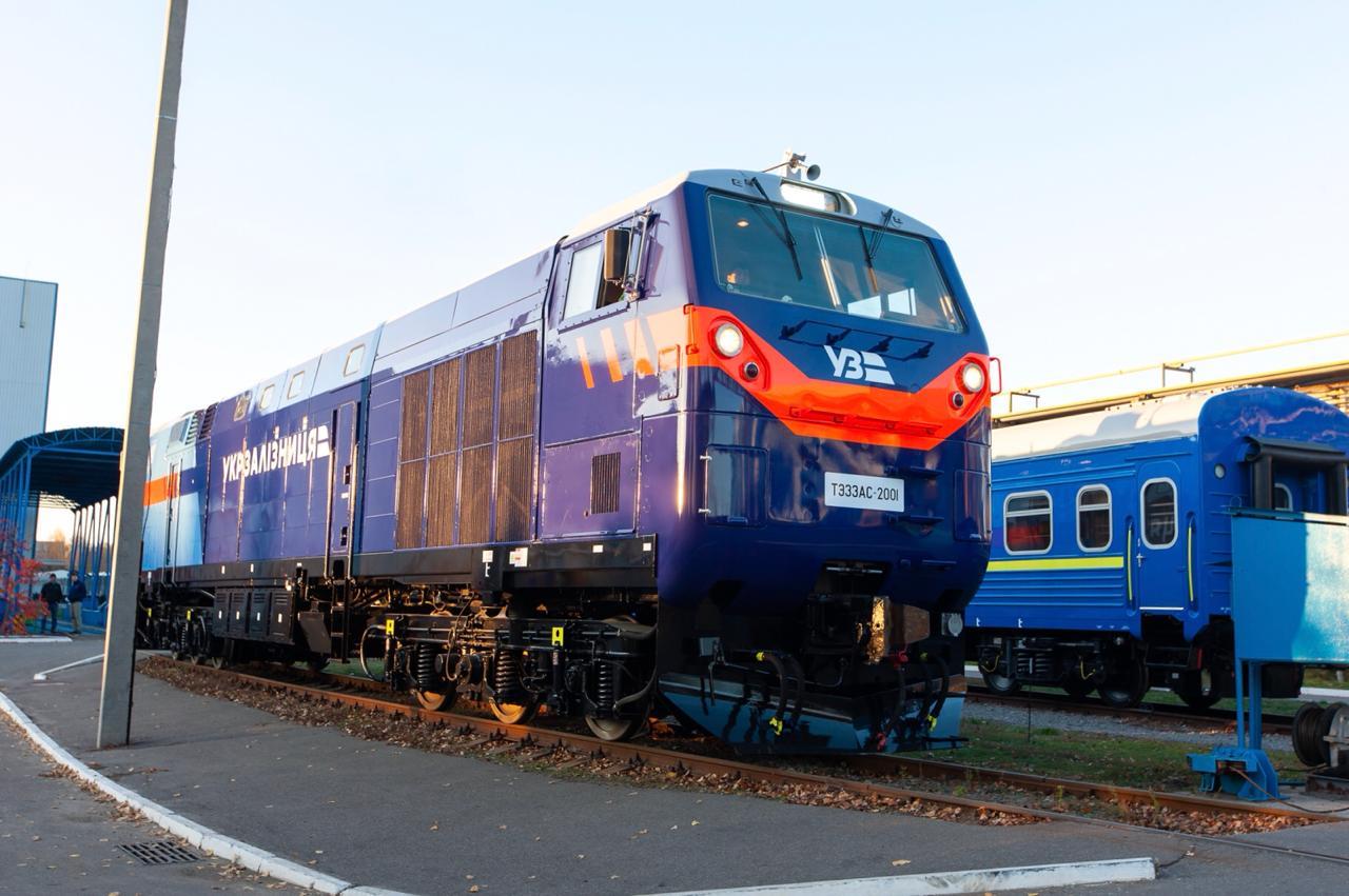 В Запорожской области на следующей неделе заработают новые локомотивы от General Electric