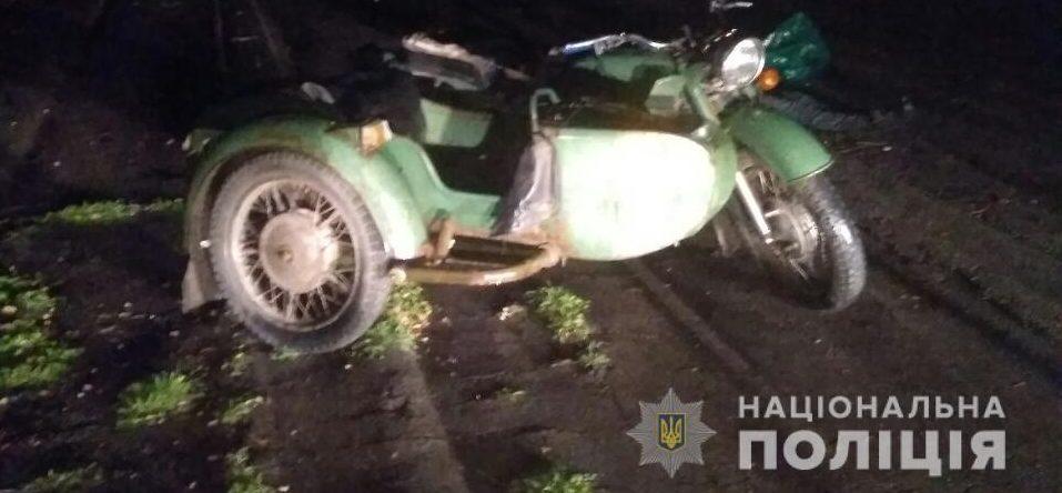 В Запорожской области погиб пассажир мотоцикла - водитель был под кайфом – Индустриалка