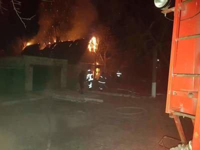 В Запорожской области сгорел дом - один человек погиб, - ФОТО