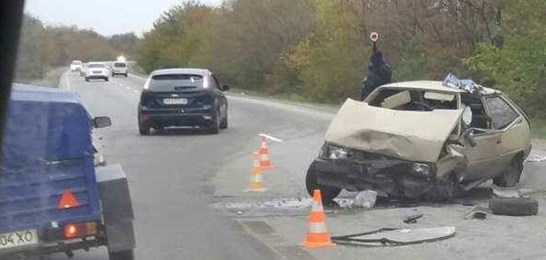 В Запорожской области столкнулись лоб в лоб