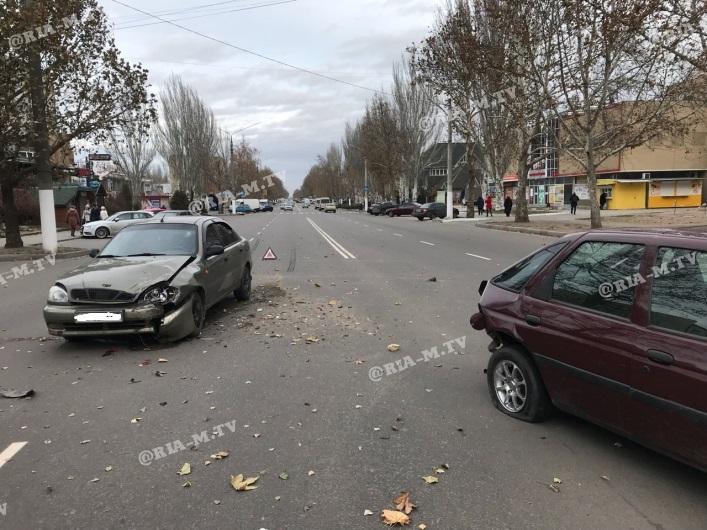 В Запорожской области столкнулись «Lanos» и «Ford» (Фото)
