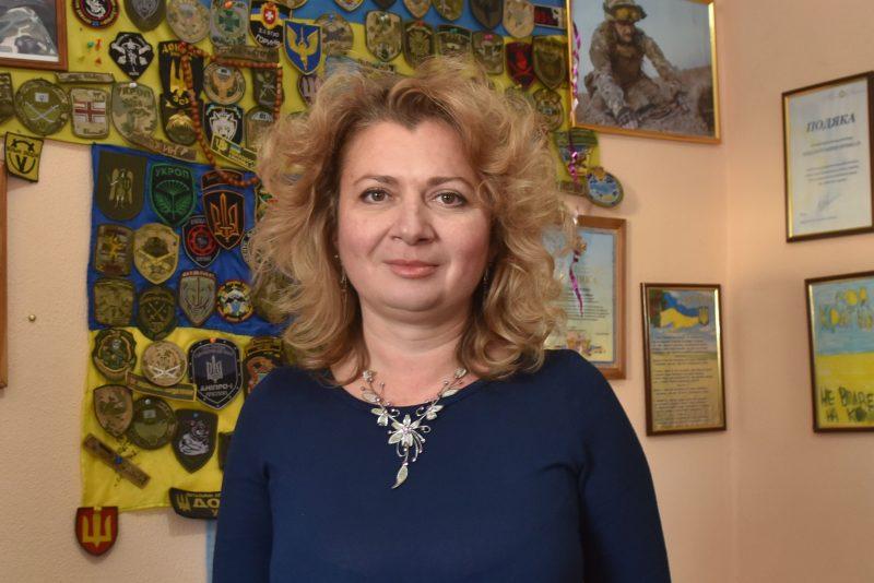 Руководитель волонтерского центра «Солдатский привал» Галина Гончаренко