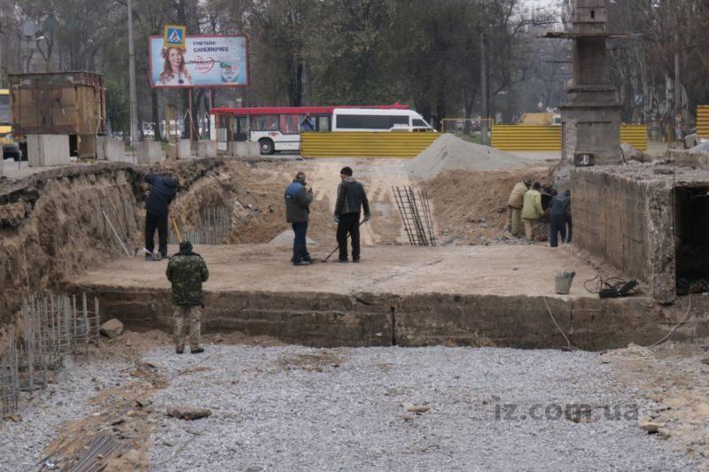 путепровод на проспекте Металлургов
