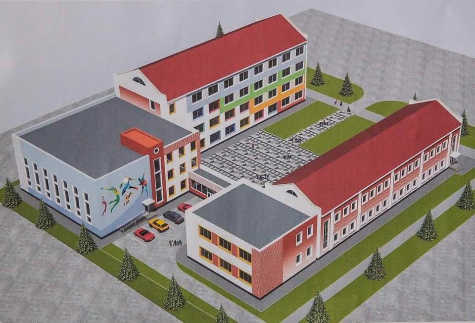 В Запорожье вместо старой школы планируют построить совершенно новую