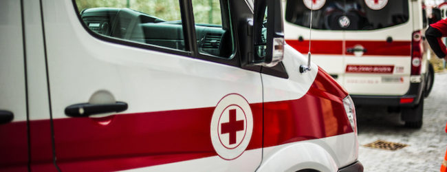 В Запорожье во время пожара травмировалась женщина