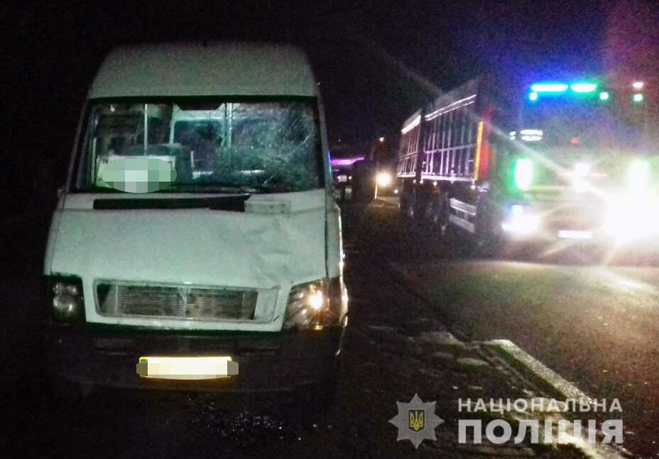 В Запорожье водитель маршрутки сбил пешехода – Индустриалка
