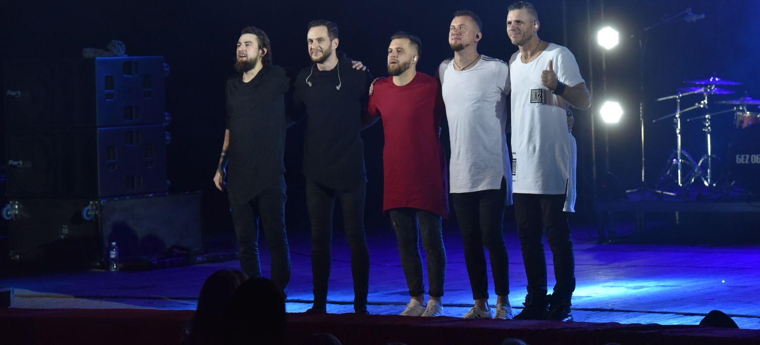 В Запорожье группа «Без обмежень» отметила шампанским выход альбома – Индустриалка