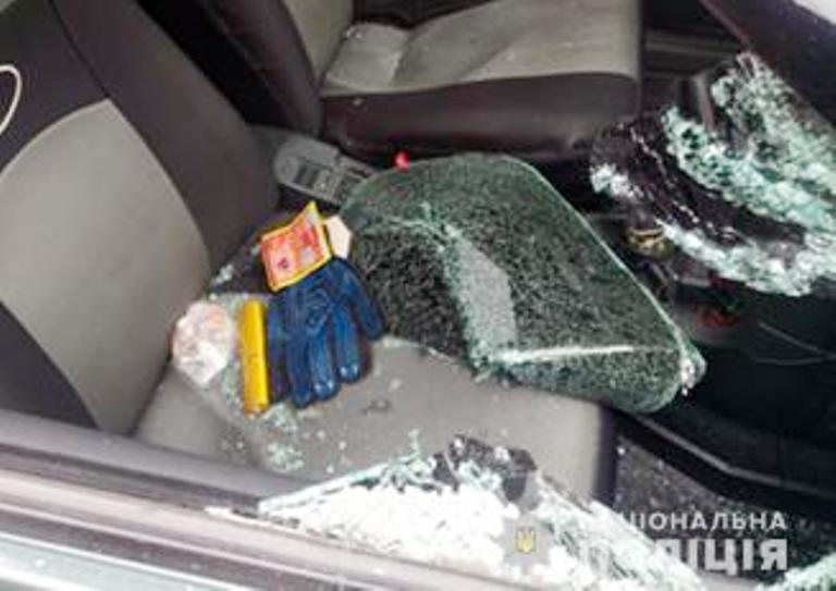 В Запорожье иностранец совершил грабеж (Фото)