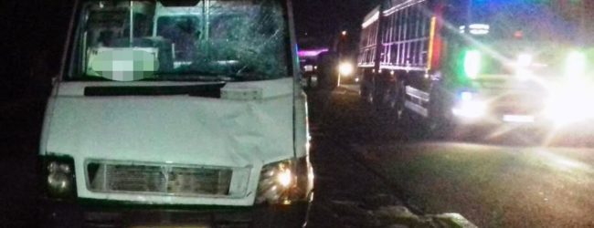 В Запорожье маршрутка сбила насмерть пешехода