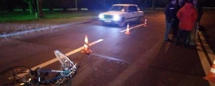В Запорожье машина сбила пенсионера на велосипеде, - ФОТО