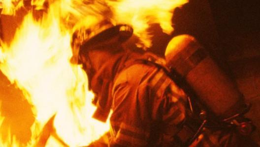 В Запорожье мужчина чуть не сгорел вместе со вторсырьем