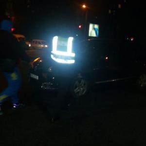 В Запорожье на пешеходном переходе иномарка сбила пешехода (ФОТО) - 08.11.2018, 15:57