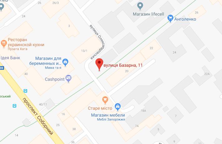 В Запорожье на рынке Анголенко демонтируют два незаконных киоска