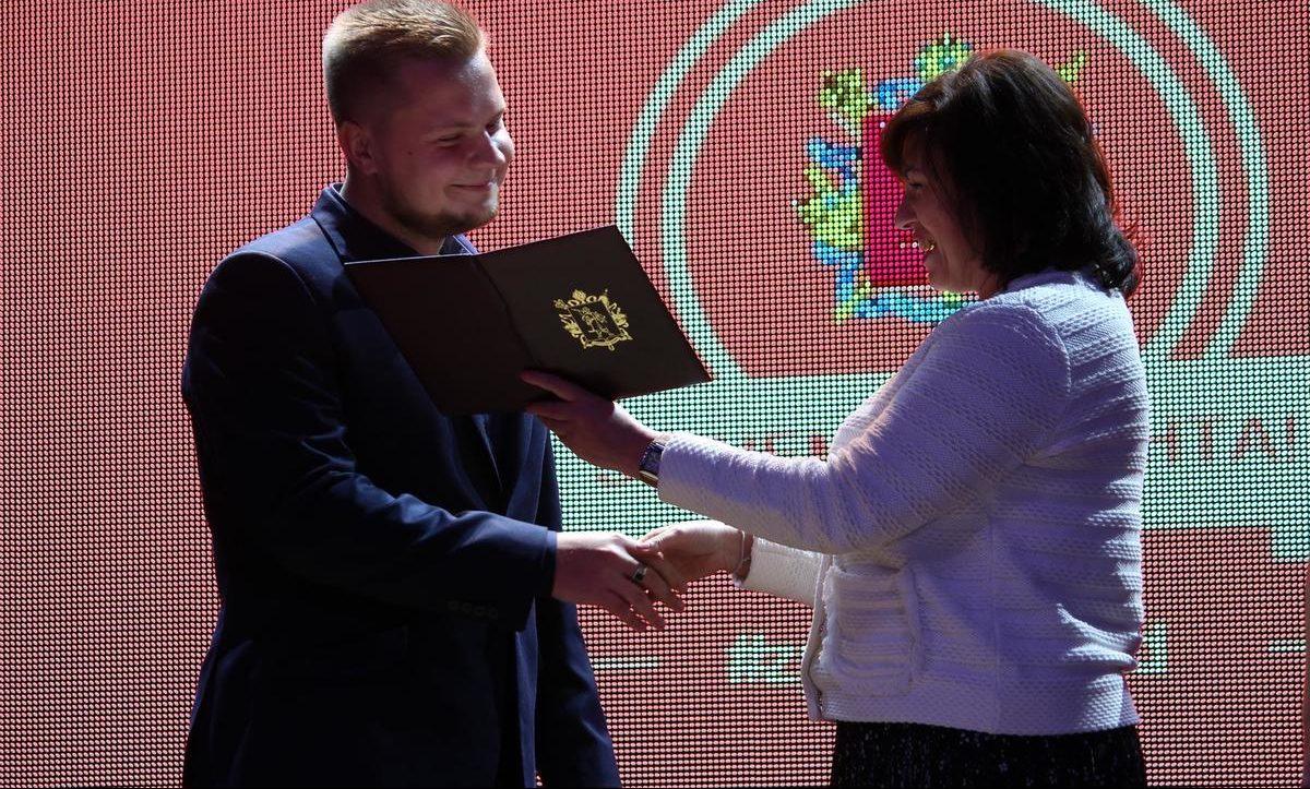 В Запорожье наградили лучших студентов года – Индустриалка