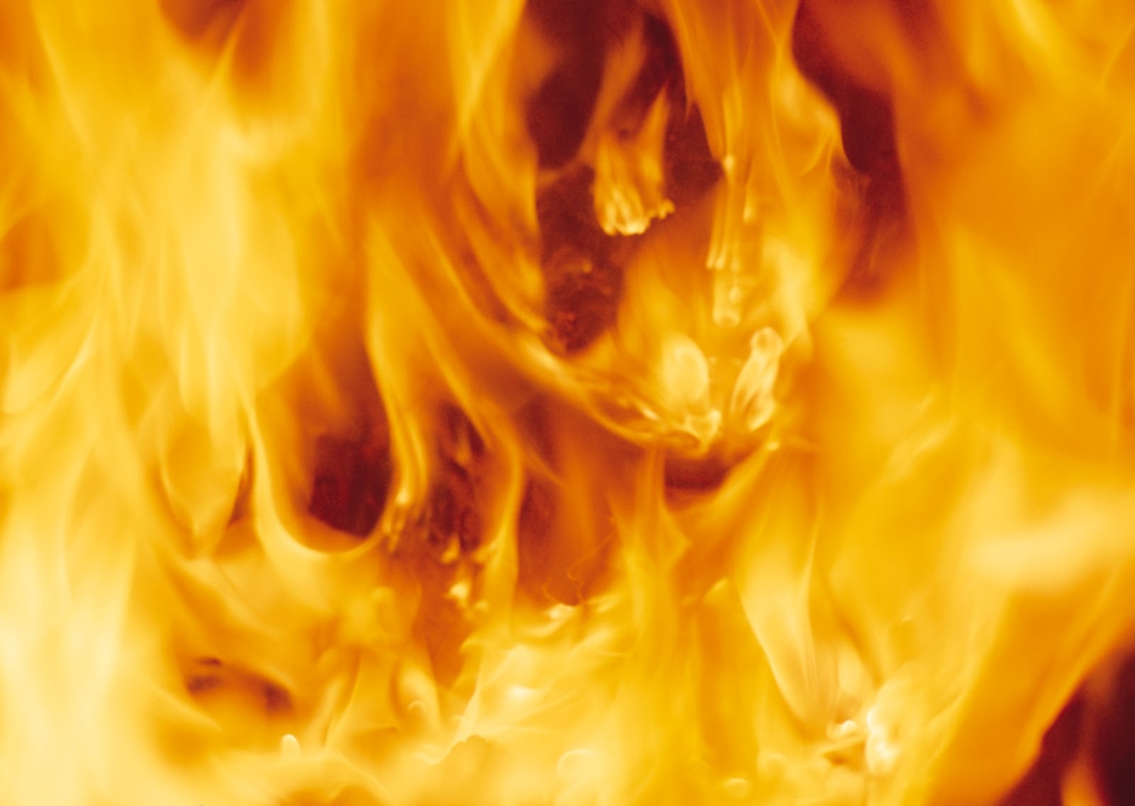 В Запорожье ночью горел жилой дом