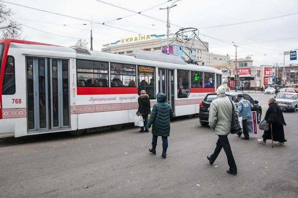 В Запорожье поступили 4 кузова для трамваев