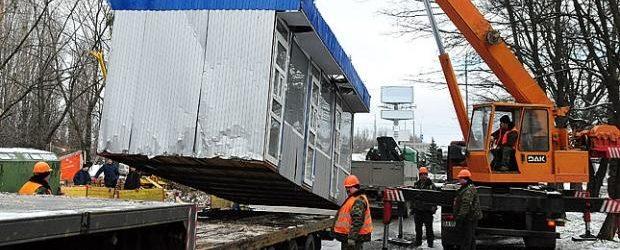 В Запорожье снесут самовольно установленные МАФ и летнюю площадку