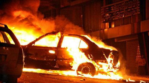 В Запорожье снова горели автомобили