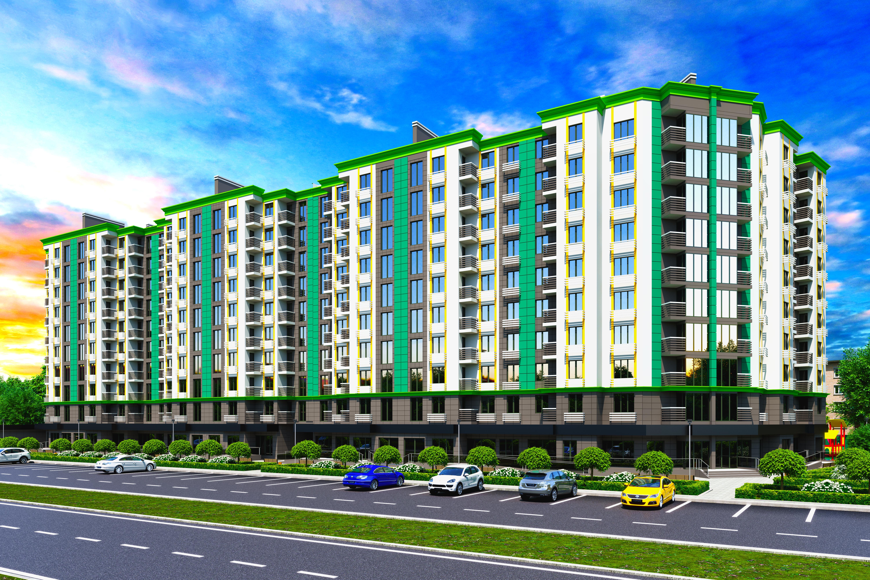 В Запорожье собираются построить элитный жилой комплекс (Фото)
