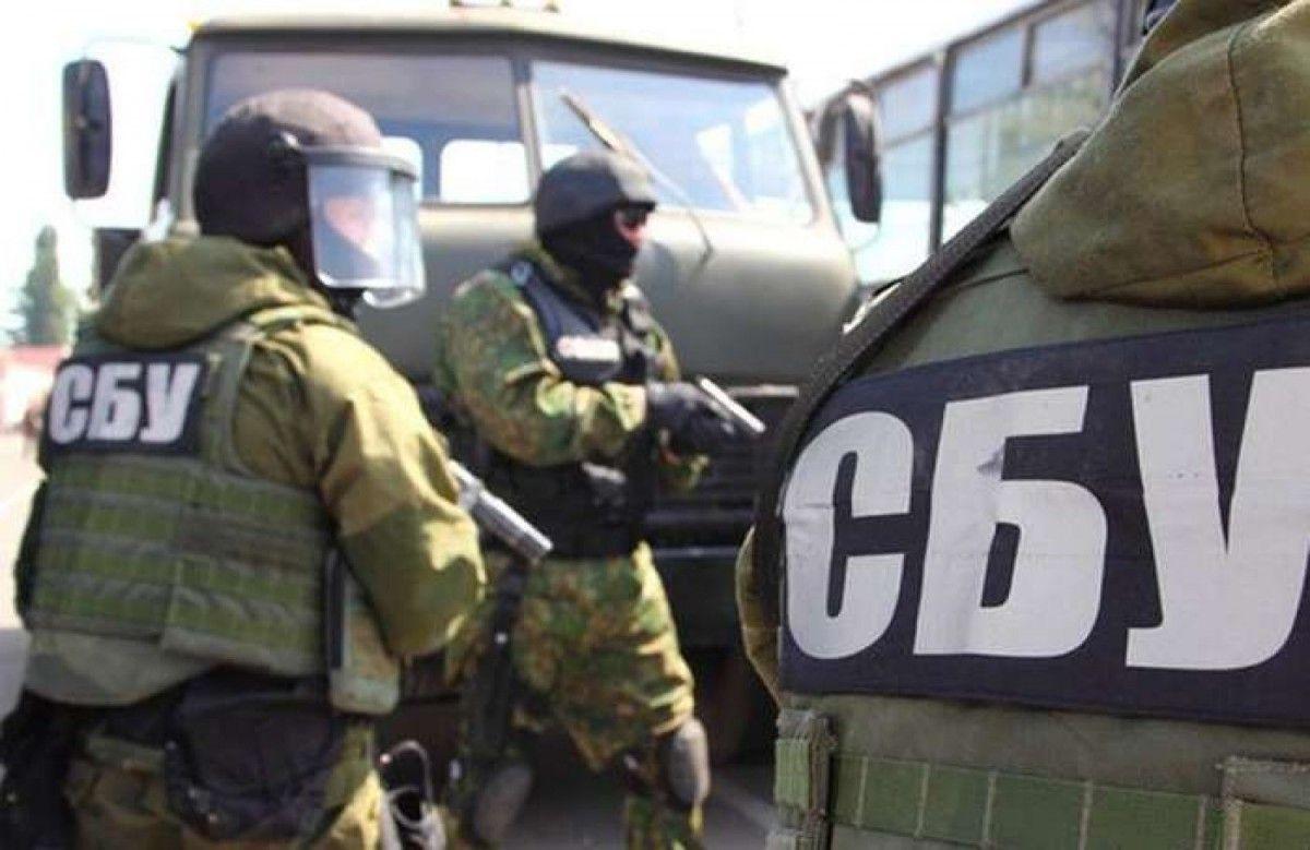 В Запорожье сотрудники СБУ пресекли факт незаконного вывоза из Украины товаров военного назначения
