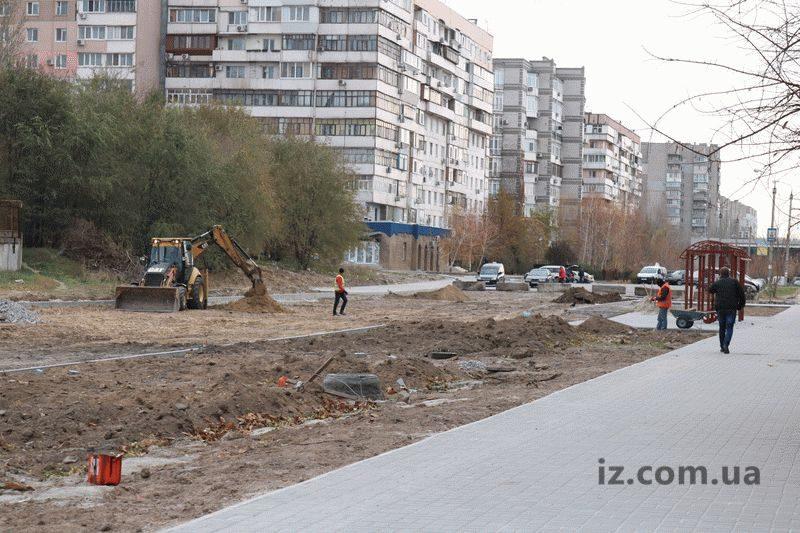 реконструкция на улице Школьной