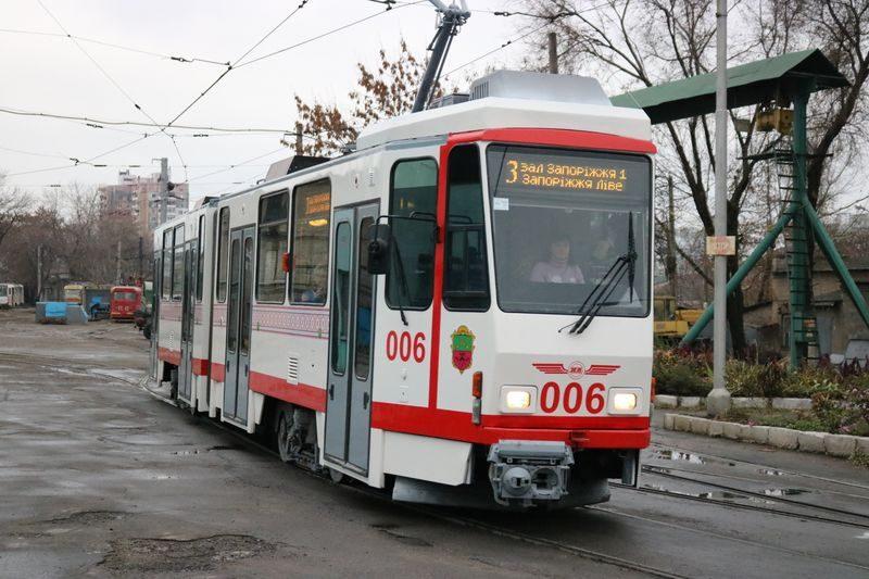 новый трамвай