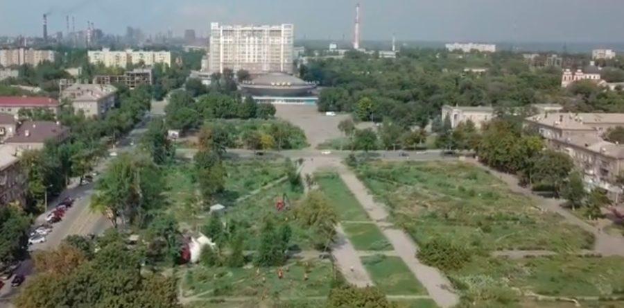 В Запорожье хотят восстановить деревья в вырубленном сквере Яланского (ФОТО)
