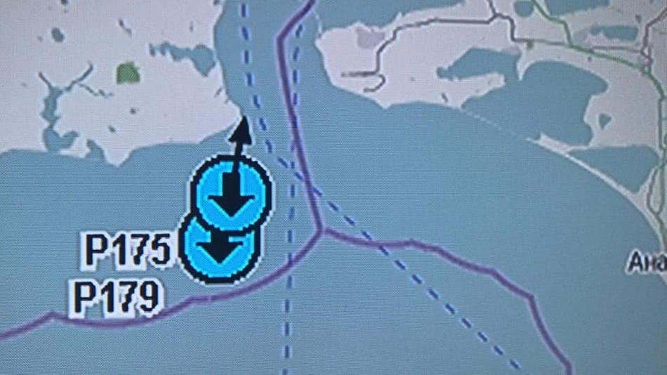 Украинские корабли не пересекали границу