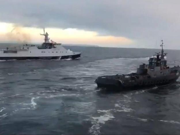 В Минобороны показали разведданные, подтверждающие, что украинские корабли ничего не нарушали