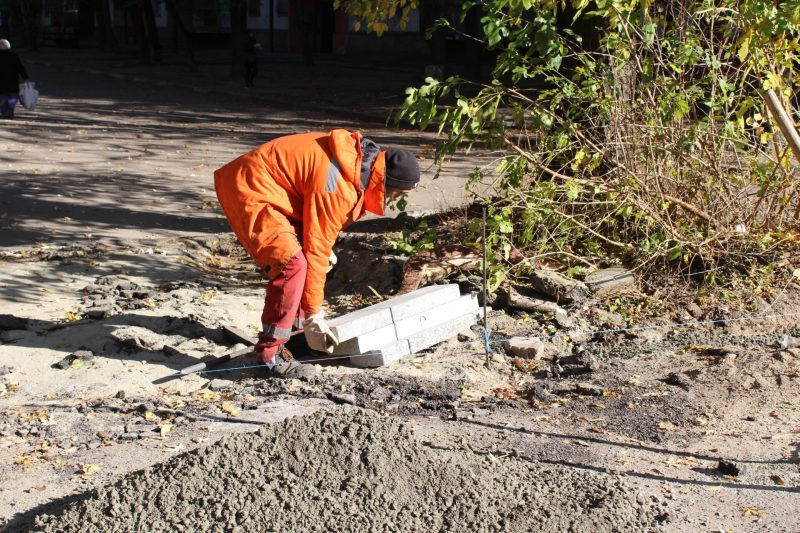 ремонт внутриквартальных дорог