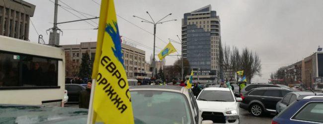 В полиции отреагировали на акции протестов «евробляхеров»