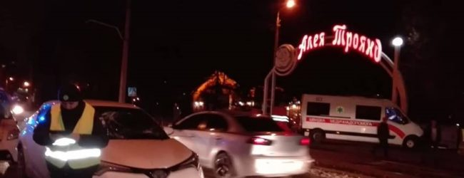 В центре Запорожья сбили пешехода (ФОТО)