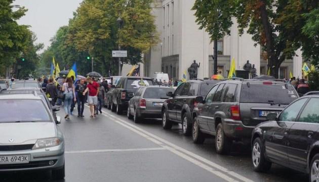 """Владельцы """"евроблях"""" частично блокируют дороги в 5 областях: список дорог, которые следует объезжать"""
