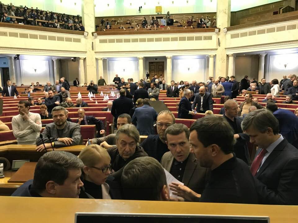 Военное положение: кто голосовал против (Фото)