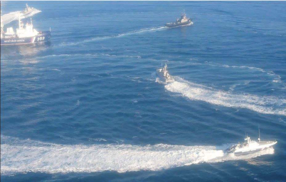 Военный корабль РФ протаранил буксир ВМС Украины в Азовском море