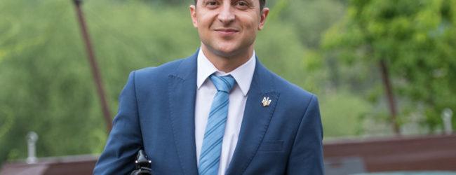 «Выборы президента» в Запорожье, которые устроил журналист Гордон, закончились победой Владимира Зеленского