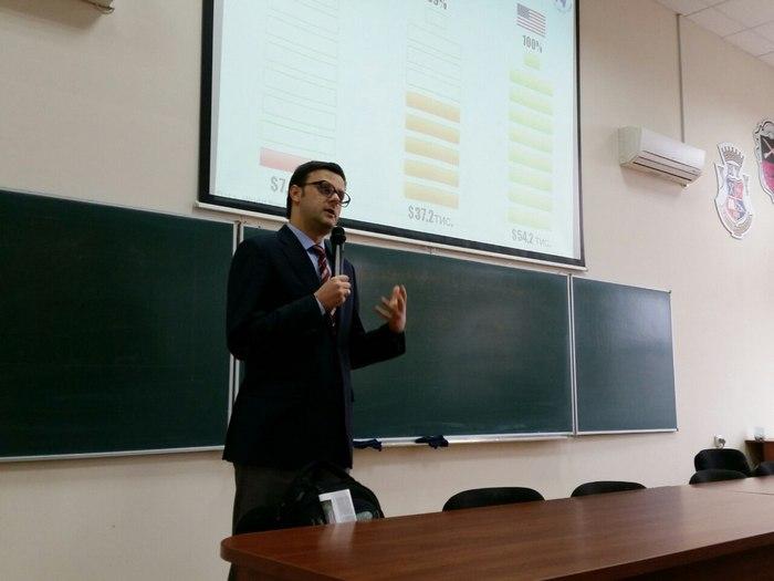 Глава комитета Верховной Рады посетил ЗНТУ и пообщался со студентами (ФОТО)