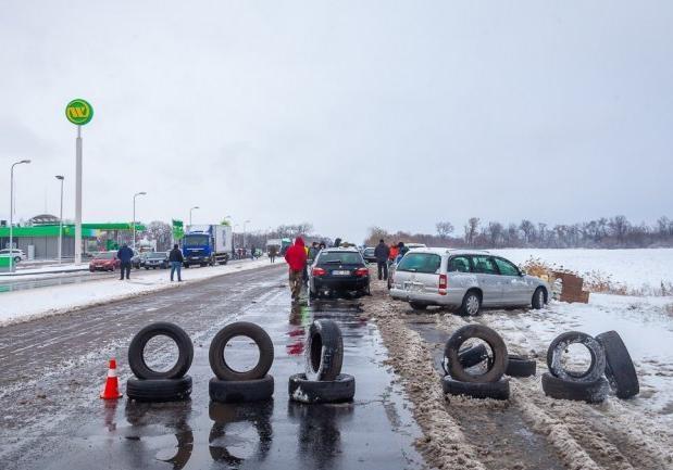 Евробляхеры прекратили протесты по Украине