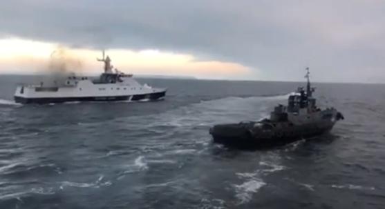"""""""Есть раненые, надайте помощь"""": опубликована запись переговоров военных во время захвата кораблей ВМС Украины"""