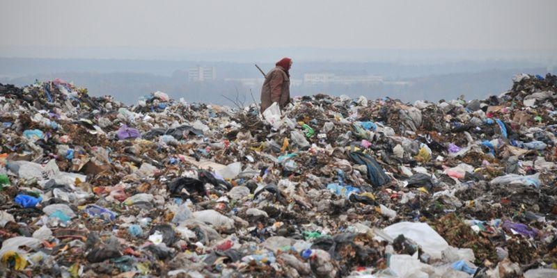 Жители Запорожья пожаловались на свалку мусора в центре города