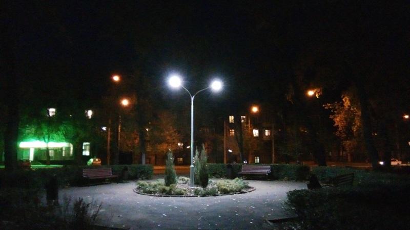 Заводская райадминистрация воплотила в жизнь социальный проект по созданию зеленой зоны отдыха